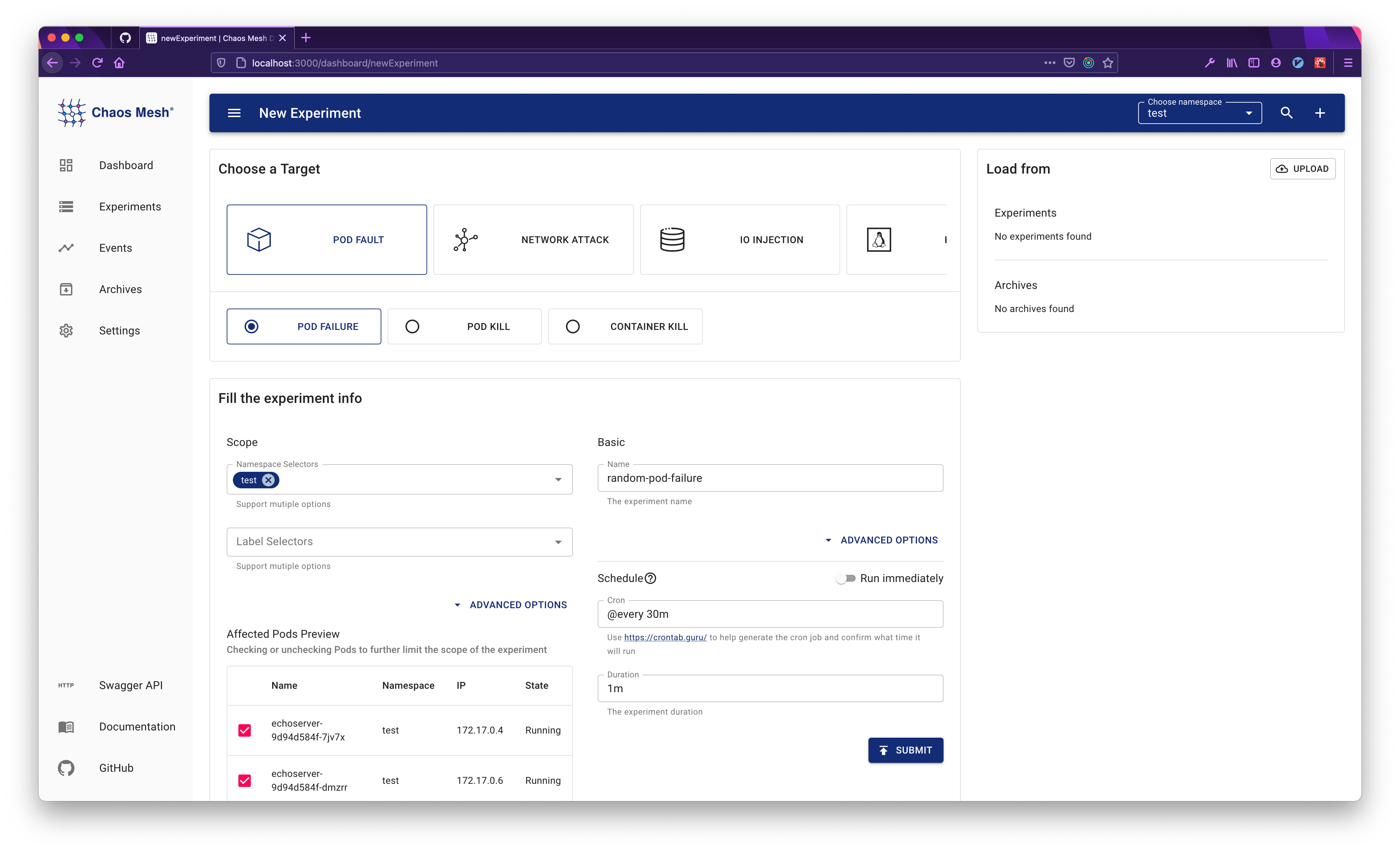 dashboard-fill-experiment